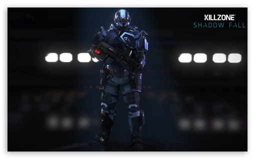 Killzone Shadow Fall - Helghast Infantry HD wallpaper for Wide 5:3 Widescreen WGA ; HD 16:9 High Definition WQHD QWXGA 1080p 900p 720p QHD nHD ; Mobile 5:3 16:9 - WGA WQHD QWXGA 1080p 900p 720p QHD nHD ;