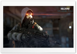 Killzone Shadow Fall Black Hand HD Wide Wallpaper for 4K UHD Widescreen desktop & smartphone