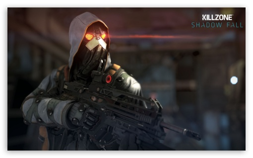 Killzone Shadow Fall Black Hand HD wallpaper for Wide 5:3 Widescreen WGA ; HD 16:9 High Definition WQHD QWXGA 1080p 900p 720p QHD nHD ; Mobile 5:3 16:9 - WGA WQHD QWXGA 1080p 900p 720p QHD nHD ;