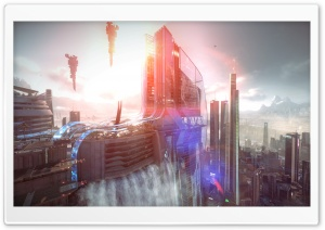 Killzone Shadow Fall Game HD Wide Wallpaper for Widescreen