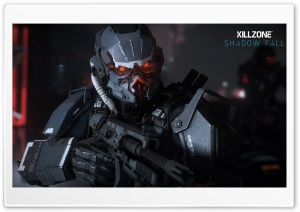 Killzone Shadow Fall, Helghast Infantry Ultra HD Wallpaper for 4K UHD Widescreen desktop, tablet & smartphone