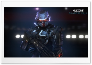 Killzone Shadow Fall, Helghast Infantry HD Wide Wallpaper for Widescreen