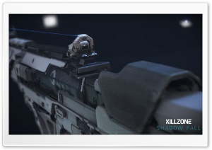 Killzone Shadow Fall M55 Assault Rifle HD Wide Wallpaper for Widescreen