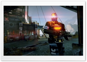Killzone Shadow Fall Screenshot HD Wide Wallpaper for Widescreen