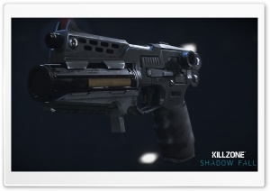 Killzone Shadow Fall StA-19 Pistol HD Wide Wallpaper for Widescreen