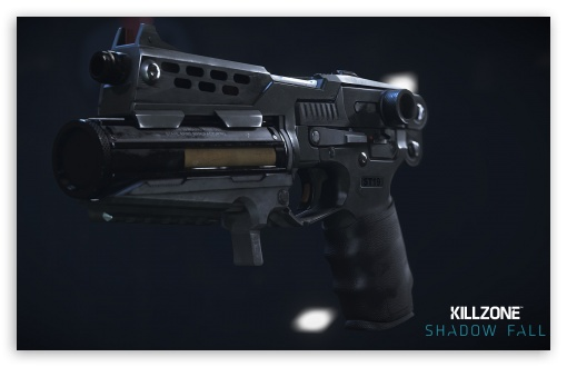 Killzone Shadow Fall StA-19 Pistol HD wallpaper for Wide 16:10 5:3 Widescreen WHXGA WQXGA WUXGA WXGA WGA ; HD 16:9 High Definition WQHD QWXGA 1080p 900p 720p QHD nHD ; Mobile 5:3 16:9 - WGA WQHD QWXGA 1080p 900p 720p QHD nHD ;