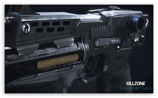 Killzone Shadow Fall StA-19 Pistol 2013 Game HD wallpaper for Wide 5:3 Widescreen WGA ; HD 16:9 High Definition WQHD QWXGA 1080p 900p 720p QHD nHD ; Mobile 5:3 16:9 - WGA WQHD QWXGA 1080p 900p 720p QHD nHD ;