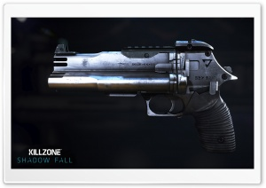 Killzone Shadow Fall, VC-15 Shotgun Pistol HD Wide Wallpaper for Widescreen