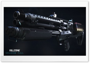 Killzone Shadow Fall, VC-30 Shotgun HD Wide Wallpaper for Widescreen