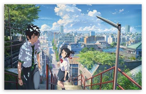 Kimi No Na Wa Ultra Hd Desktop Background Wallpaper For