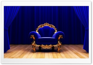 King Armchair HD Wide Wallpaper for 4K UHD Widescreen desktop & smartphone