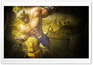 KING IN TEKKEN Ultra HD Wallpaper for 4K UHD Widescreen desktop, tablet & smartphone