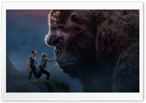 King Kong HD Wide Wallpaper for Widescreen