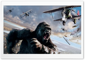 King Kong 2005 HD Wide Wallpaper for 4K UHD Widescreen desktop & smartphone