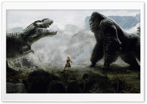 King Kong Vs Godzilla HD Wide Wallpaper for 4K UHD Widescreen desktop & smartphone