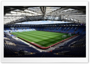 King Power Stadium Ultra HD Wallpaper for 4K UHD Widescreen desktop, tablet & smartphone