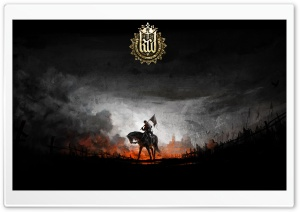 Kingdom Come Deliverance With Game Logo HD Wide Wallpaper for 4K UHD Widescreen desktop & smartphone