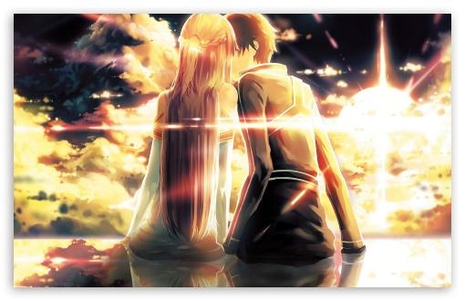 Download Kirito X Asuna HD Wallpaper