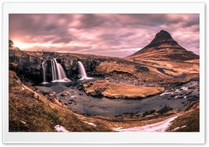 Kirkjufell mountain, Iceland, Game of Thrones HD Wide Wallpaper for 4K UHD Widescreen desktop & smartphone