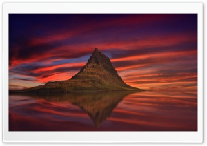 Kirkjufell Mountain Iceland Game of Thrones HD Wide Wallpaper for 4K UHD Widescreen desktop & smartphone