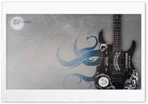 Kirks Guitar HD Wide Wallpaper for Widescreen