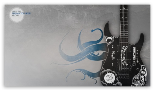 Kirks Guitar Ultra Hd Desktop Background Wallpaper For 4k Uhd Tv Tablet Smartphone
