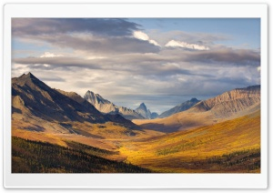Klondike River Valley, Tombstone Territorial Park, Yukon, Canada HD Wide Wallpaper for 4K UHD Widescreen desktop & smartphone