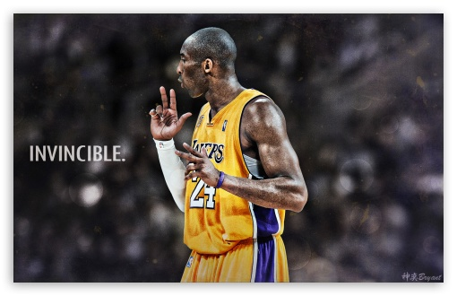 Kobe Bryant Invincible ❤ 4K UHD Wallpaper for Wide 16:10 5:3 Widescreen WHXGA WQXGA WUXGA WXGA WGA ; 4K UHD 16:9 Ultra High Definition 2160p 1440p 1080p 900p 720p ; Mobile 5:3 16:9 - WGA 2160p 1440p 1080p 900p 720p ;