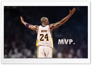 Kobe Bryant is the MVP Ultra HD Wallpaper for 4K UHD Widescreen desktop, tablet & smartphone