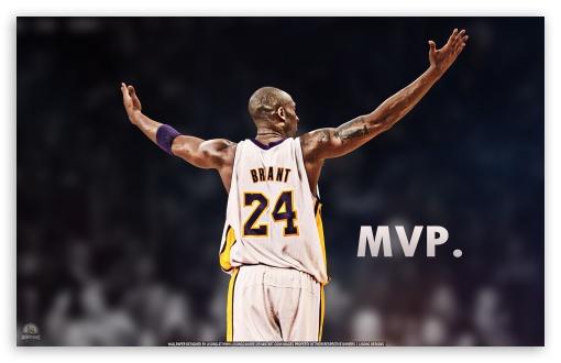 Kobe Bryant is the MVP UltraHD Wallpaper for Wide 16:10 5:3 Widescreen WHXGA WQXGA WUXGA WXGA WGA ; Mobile 5:3 - WGA ;