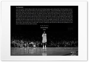 Kobe Bryant retirement Ultra HD Wallpaper for 4K UHD Widescreen desktop, tablet & smartphone