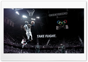 Kobe Bryant take flight HD Wide Wallpaper for Widescreen