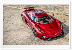 Koenigsegg Regera 2016 red HD Wide Wallpaper for 4K UHD Widescreen desktop & smartphone