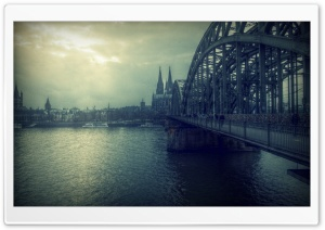 Koln Bridge HD Wide Wallpaper for Widescreen