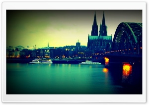 Koln Bridge HD Wide Wallpaper for 4K UHD Widescreen desktop & smartphone