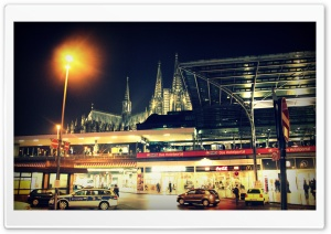 Koln Cathedral HD Wide Wallpaper for Widescreen