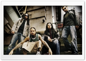 Korn Band HD Wide Wallpaper for Widescreen