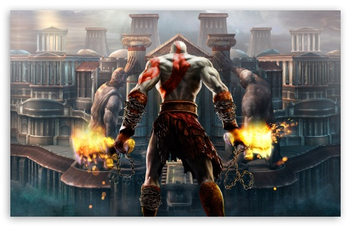 Kratos, God Of War HD desktop wallpaper : High Definition