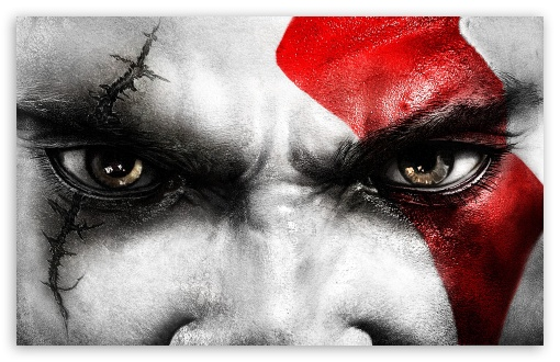 Kratos God of War III HD desktop wallpaper : Widescreen : High