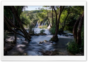Kravice Waterfall-Bosnia and Herzegovina HD Wide Wallpaper for Widescreen
