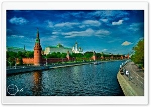 Kremlin Moscow HD Wide Wallpaper for Widescreen