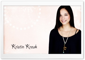 Kristin Kreuk HD Wide Wallpaper for Widescreen