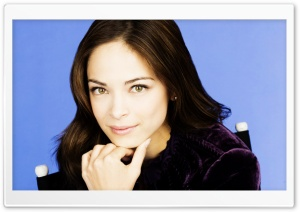 Kristin Kreuk Portrait HD Wide Wallpaper for Widescreen