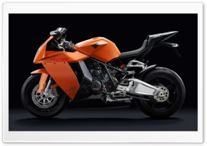 KTM 1190 RC8 Motorcycle HD Wide Wallpaper for Widescreen