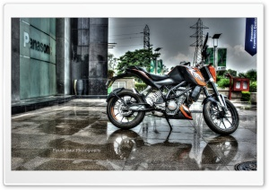 KTM DUKE 200 HD Wide Wallpaper for Widescreen