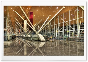 Kuala Lumpur International Airport, Malaysia HD Wide Wallpaper for Widescreen