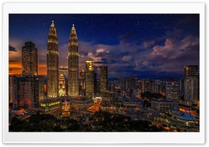 Kuala Lumpur, Malaysia HD Wide Wallpaper for Widescreen