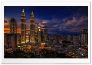 Kuala Lumpur, Malaysia HD Wide Wallpaper for Widescreen