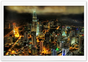 Kuala Lumpur Petronnas Towers HD Wide Wallpaper for 4K UHD Widescreen desktop & smartphone