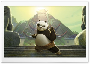 Kung Fu Panda HD Wide Wallpaper for 4K UHD Widescreen desktop & smartphone